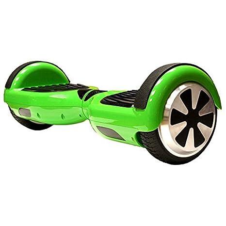 Patin ELECTRICO INFINITON (Patinete, 2 Motores, Velocidad máxima de 10Km/h, Ruedas 6.5″) (Verde)