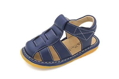 Little MAE'S Toddler Boy Sandals | Navy Blue