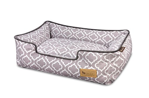 - P.L.A.Y. (Pet Lifestyle And You) P.L.A.Y. - Moroccan Lounge Bed - Medium - Ash