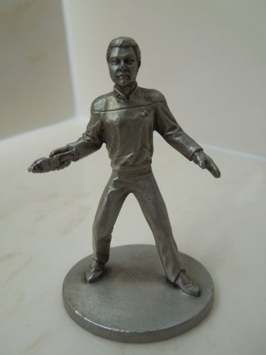 Star Trek TNG Rawcliffe Pewter Figure - Commander William T. Riker