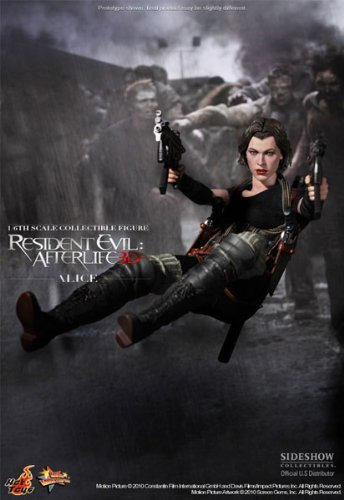 Jovovich Milla Alice Costume (Movie Masterpiece BIOHAZARD 4 Afterlife - Alice Hot Toys)