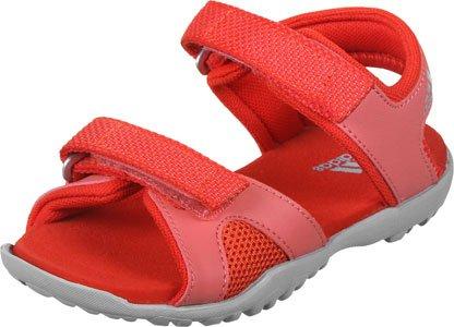 adidas SANDPLAY OD K - Sandaliaspara niños, Azul Rojo