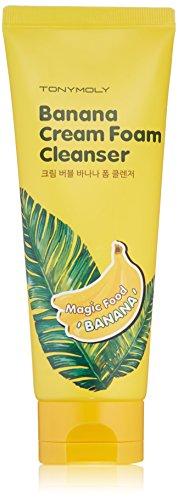 TONYMOLY Banana Cream Foam Cleanser, 5 Fl Oz