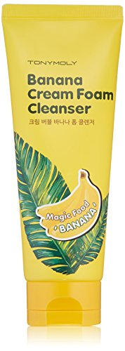 TONYMOLY Banana Cream Foam Cleanser, 5 Fl Oz