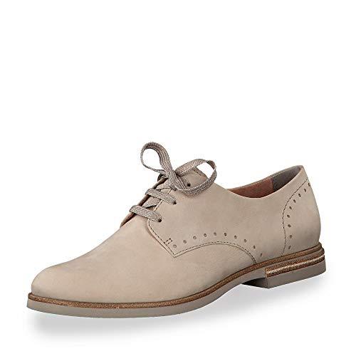 Beige 1 Calzado Mujer 22 Cordones zapato Deportivo Tamaris Con 1 23205 OHvqwqnBg
