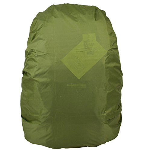 TOOGOO(R) 1pcs Nylon Camouflage RainCover 30-40L Protable Waterproof Backpack Bag Rain Cover For Travel bag(Army Green) SHOMAGT12673