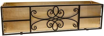 Panacea Quatrefoil Window Box, 36