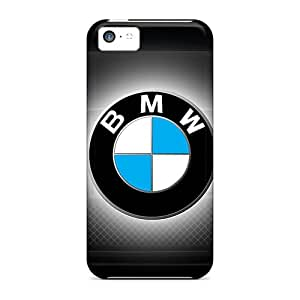 Awesome Sup11349SQen Wilsongoods66 Defender Tpu Hard Cases Covers For Iphone 5c- Dark Bmw Logo