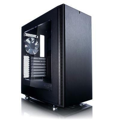 Fractal Design Define C No Power Supply ATX Case with Window, Black (FD-CA-DEF-C-BK-W) by Fractal Design