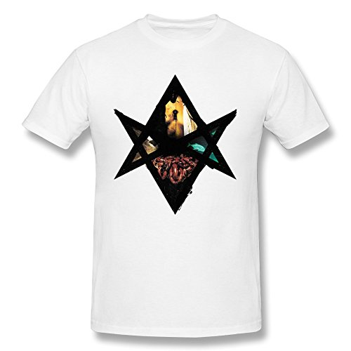 RZF Men's Bring Me The Horizon2 T-Shirt-L White