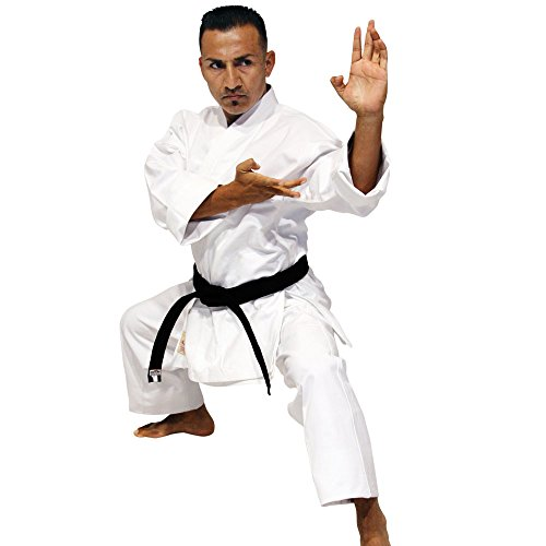 Tiger Claw Karate Uniform 100% Cotton White Hayashi Heavy Weight #5 (Heavyweight Karate Gi)