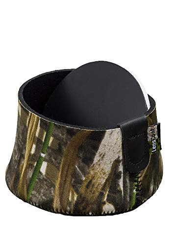 (LensCoat Neoprene Camera Lens Cap Cover Protection Camouflage Hoodie X Large, Realtree Max5 (lchxlm5))