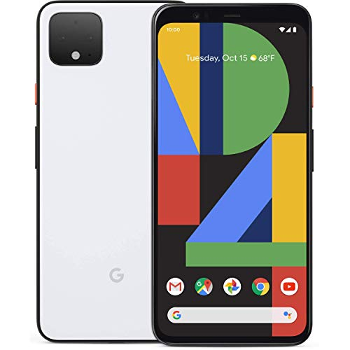 Google Pixel 4, 128GB Clearly White (Verizon) (Renewed)