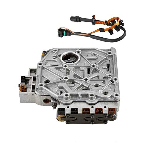 DOEU Gearbox Solenoid Valve 4 Speed Automatic Transmission Valve Body With Wiring Harness OEM# 01M325283A: