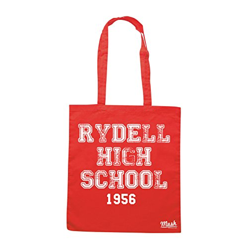 Borsa RYDELL HIGH SCHOOL - GREASE - Rossa - FILM by Mush Dress Your Style
