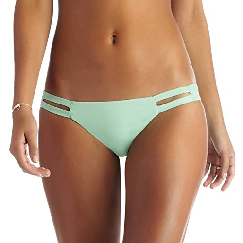 Vitamin A Women's Neutra Hipster Bikini Bottoms, Ice Green, Medium