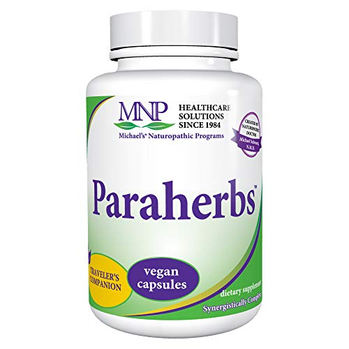 Michael's Naturopathic Programs Paraherbs - 120 Vegan Capsules - Intestinal Cleansing Support Supplement, Papaya Seeds for Detoxification - Vegetarian, Kosher - 120 Servings