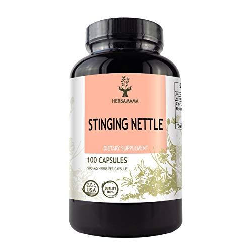 Stinging Nettle Capsules Organic Non GMO