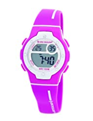 Dunlop Ladies Chronograph Watch DUN-153-L05 With Motley -100M Water Resistant, El Backlight