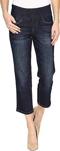 Comfort Denim Cropped Pants - 9