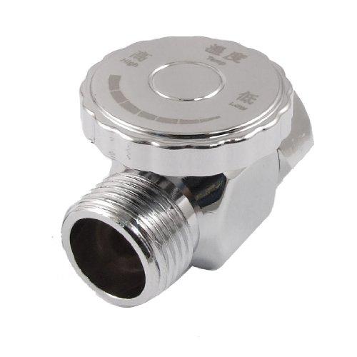 0.75' Knob - uxcell Metal 2 Way Hot Water Temperature Regulator Control Valve New