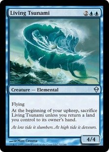 Magic: the Gathering - Living Tsunami (52) - -