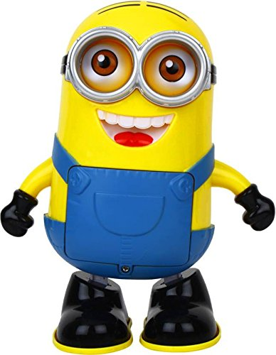 FunBlast Dancing Minion with Music, Flashing Lights, Battery Operated, Multi Color
