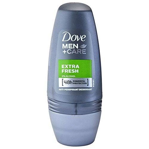 (Dove Roll Anti-Perspirant Anti-Transpirant Extra Fresh Men+Care 4 Powerful Protection 50Ml/1.7 Oz (Extra Fresh, 3X50Ml/1.7 Oz))