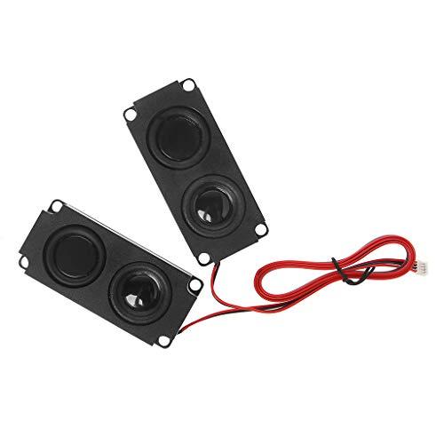 Junlinto,Audio Speakers,1045 Sound Speaker LCD TV Loudspeakers 8 Ohm 5W (1 Pair) (Tv Lcd Bookcase)