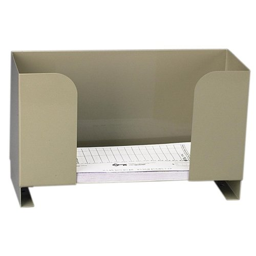 Metal Deposit Ticket Holder - Metal Deposit Ticket Holder, 10w x 4d x 6h, Pebble Beige (PMF04630) Category: Cash Drawers and Boxes
