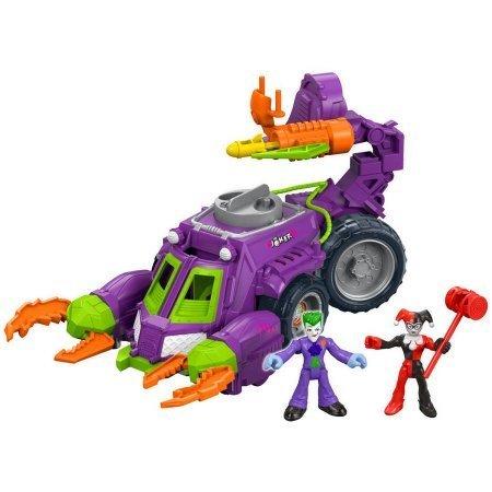Imaginext DC Super Friends - Joker & Harley Quinn Battle Vehicle