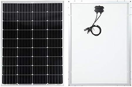 130W Solarmodul mit monokristallinen Zellen 18V 1290x675mm wetterfestes Schutzglas Solarpanel Sonne