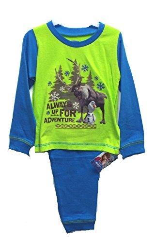 Disney Original authentic Frozen Sven y Olaf siempre Up para Adventure pijama, pijama, azul