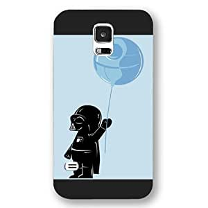 UniqueBox - Customized Personalized Black Frosted Samsung Galaxy S5 Case, Star Wars Samsung Galaxy S5 case, Star Wars Han Solo, Death Star, Darth Vader, Logo Samsung Galaxy S5 case, Only fit Samsung Galaxy S5