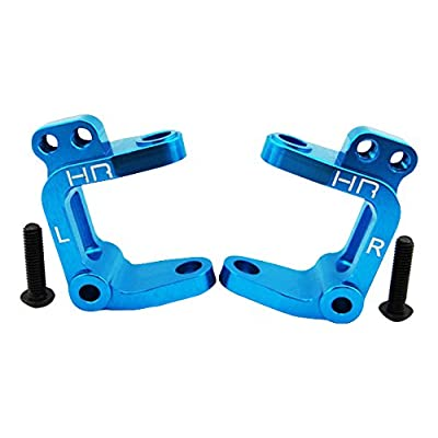 Hot Racing ECT1906 Aluminum Caster Blocks (Blue) - ECX 2WD: Toys & Games