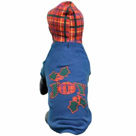 East Side Collection ES Holly Days Joy Hoodie M