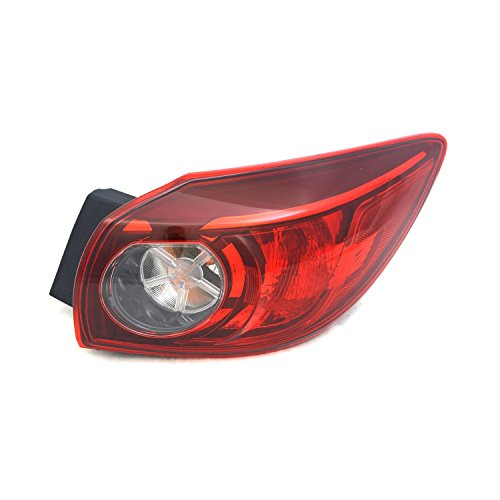 TYC 11-6659-00-1 Mercury Grand Marquis Replacement Tail (Mercury Grand Marquis Tail Lamp)