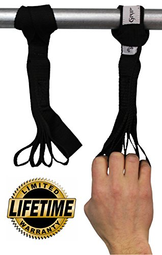 Core Prodigy Nylon Loops for Hand and Arm Strengthener. (Black)