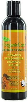 J'Organic Solutions Hydrating Shampoo(for Kids) with Wheat Protein, Pro Vitamin B5 & More