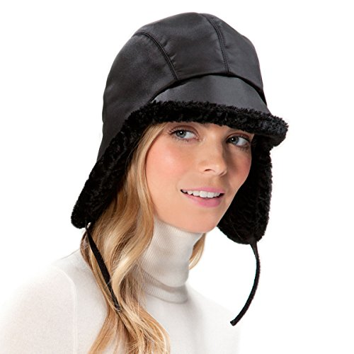 Eric Javits Designer Women's Head-wear Lancelot Hat - Black