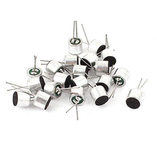 (DealMux 20 Pieces -50dB 2.2K Ohm Uni-Directional Electret Condenser Microphone)