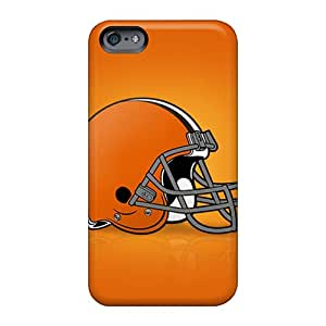 Bumper Hard Phone Cases For Apple Iphone 6 Plus With Allow Personal Design Nice Cleveland Browns Skin JacquieWasylnuk