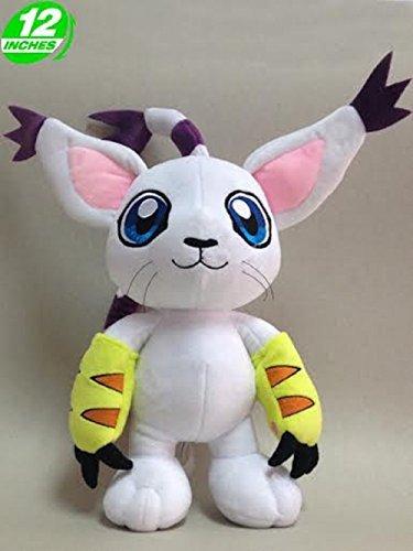 Anime Digimon Adventure Gatomon Plush Doll