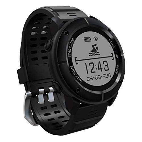 Boofab Smart Watch, Outdoor sports Tracker Watch UW80 IP68 ...