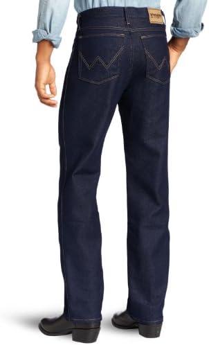 Wrangler Men's Rugged Wear Stretch Jean,Denim,42x34