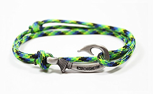 Chasing Fin Adjustable Bracelet 550 Military Paracord