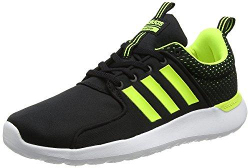 Cf Homme Jaune Ftwr Chaussures noir Lite Racer Solaire Pour De Gymnastique Adidas Blanc Noir BHdpxqB