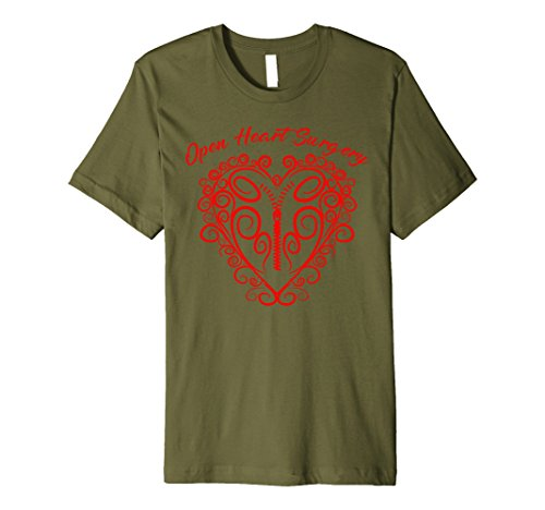 Open Heart Surgery Shirt | Cute Heart Patients T-shirt - Cute Heart Open