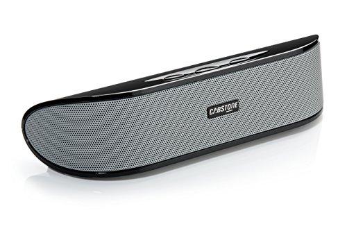 Cabstone SoundBar (Stereo-Lautsprecher mit USB-Plug 'n Play und AUX-In), schwarz