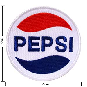 3pcs Pepsi Logo 1 Embroidered Iron on Patches Kid Biker Band Appliques for Jeans Pants Apparel Great Gift for Dad Mom Man Women Free Shipping From Thailand - High Quality Embroidery Cloth & 100% Customer Satisfaction Guarantee